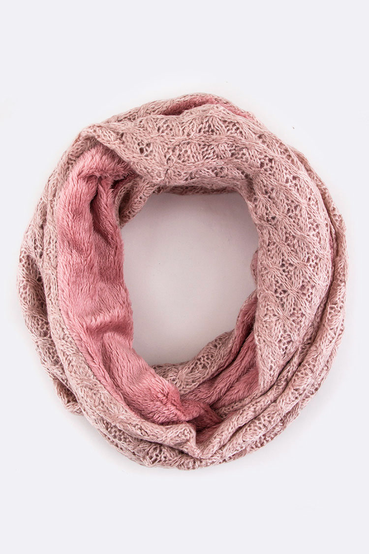 pink silloway infinity product weaving summer scarf sherbet