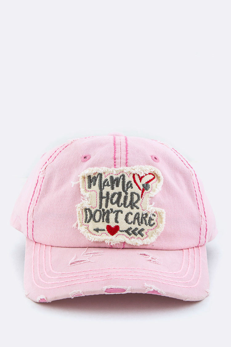355eb139613dea Mama Hair Don't Care Vintage Cotton Cap. Home · Fashion Jewelry · Hats &  Gloves · Please upgrade to full version of Magic Zoom Plus™