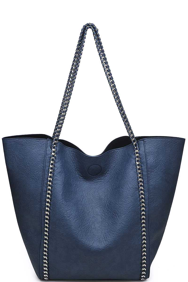 B11222a N Olive Urban Expressions Matilda Tote Bag