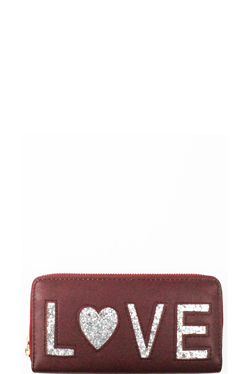 07c3d9462355ad BJCW6047-T BURGUNDY Elegant Trendy Fashion Wallet