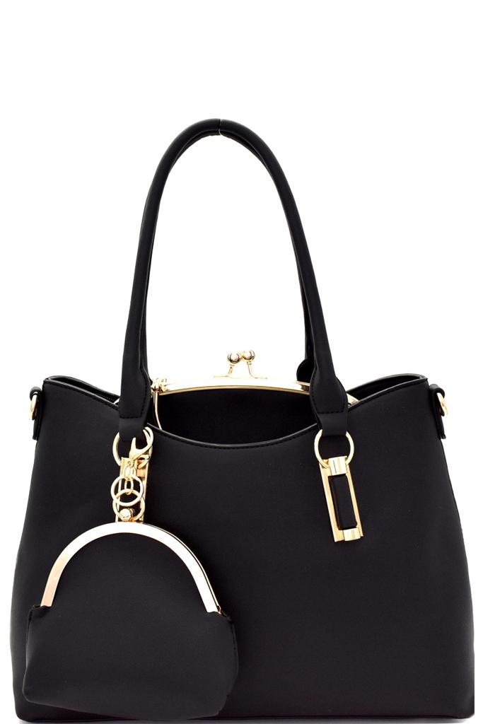 Bs1255p S Wine Metal Handle Kiss Lock Frame Inner Bag 3 In
