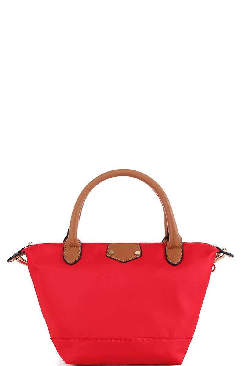 8564c00c1928 BYL19213-N RED FASHION LIGHT WEIGHT DURABLE FABRIC TOTE BAG WITH ...