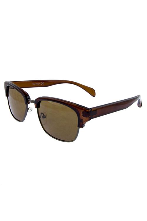 122a3fae4b4 EEZT11251 ASSORTED Mens plastic member fashion sunglasses