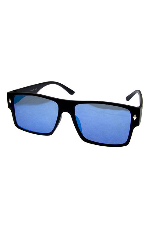 ccca15560e EWF44 ASSORTED Flat mens plastic fully rimmed sunglasses