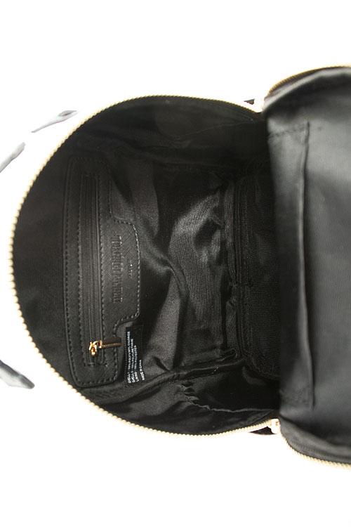 879071219a29 B17102030-N BLACK Cute Princess Pompom Mini Backpack