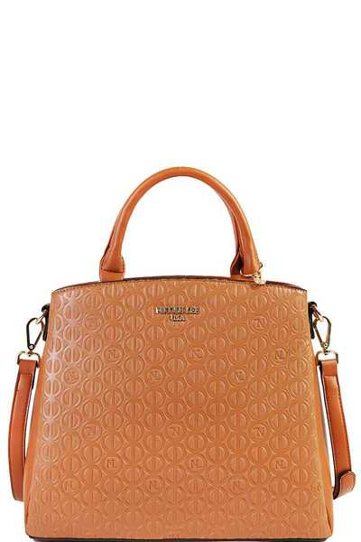 Nicole Lee Stylish Modern Satchel Bag