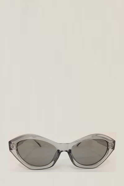 CLEAR OVAL STYLE SUNGLASSES