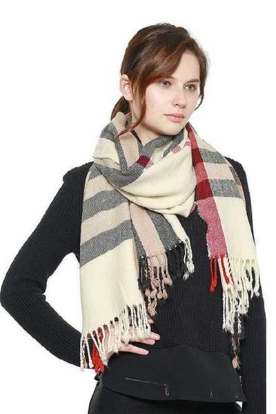 CLASSIC PLAID OBLONG SCARF