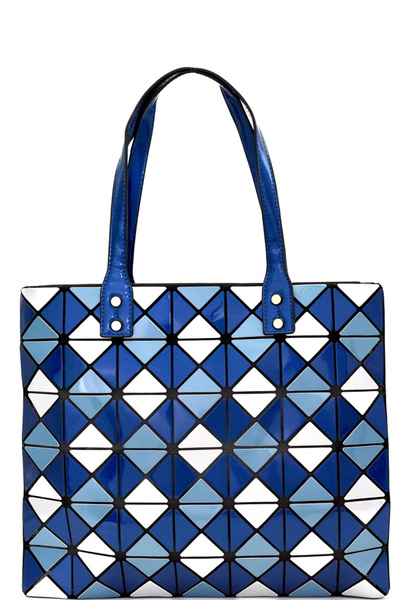 Geometry Patchwork Light-weight Shopper Tote