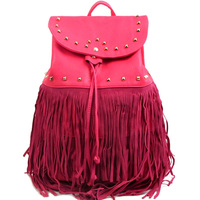Fringe Decorated Fashion Backpack