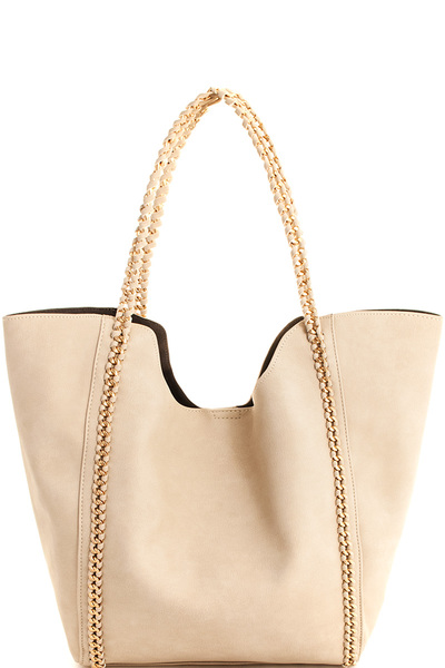 Street Level 2in1 Chained Shopper Bag