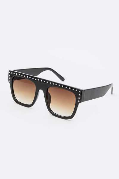 Studded Iconic Mix Tint Sunglasses Set