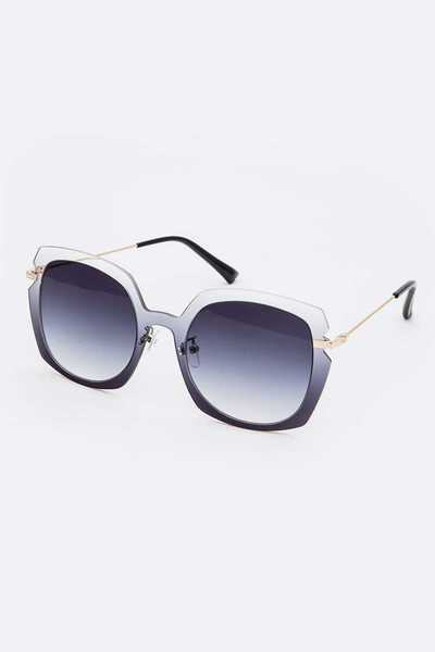 Mix Tint Square Sunglasses Set