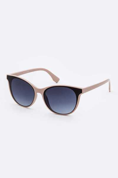 Mix Tint Cat Eye Fashion Sunglasses Set