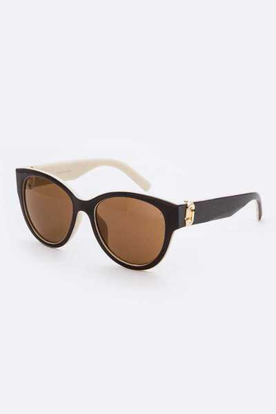 Cat Eye Fashion Sunglasses Set