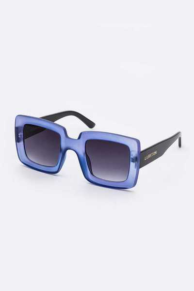 Mix Frame Retro Square Sunglasses Set