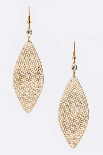 Filigree Fashion Earrings
