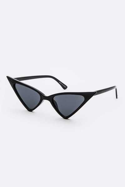 Iconic Pointy Cat Eye Sunglasses Set