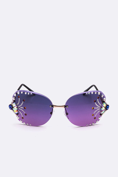 Showstopper Iconic Austrian Crystal Sunglasses