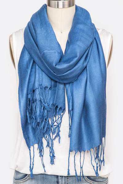 Pashmina Solid Color Scarf