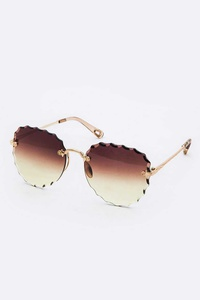 Mix Tint Trendy Square Sunglasses Set