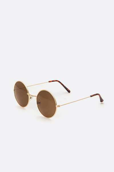 Iconic Round Sunglasses Set