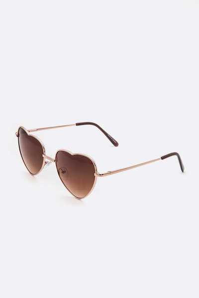 Heart Shape Iconic Sunglasses Set