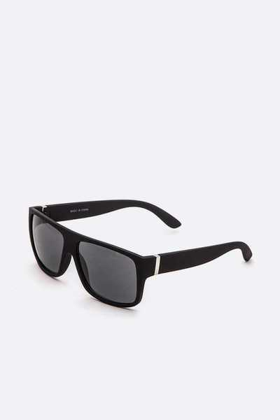 Soft Touch Square Classic Sunglasses Set