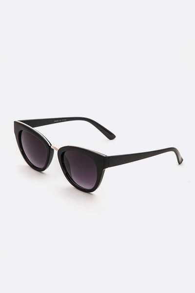 Cat Eye Everyday Fashion Sunglasses Set