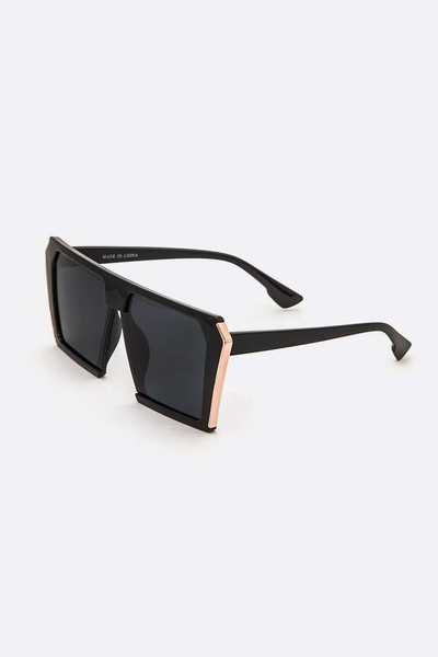 Iconic Square Oversize Sunglasses
