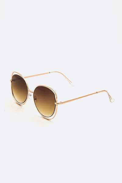 Oversize Wired Fashion Sunglasses
