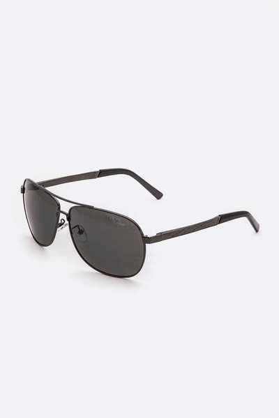 Classic Pilot Sunglasses Set