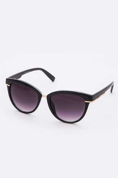Cat Eye Mix Frame Sunglasses Set