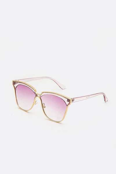 Light Color Tint Oversize Square Sunglasses
