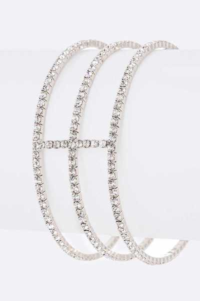 Rhinestone Dainty Iconic Bangle