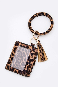Card Case & Tassel Key Charm