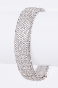 Micro Pave CZ Bangle