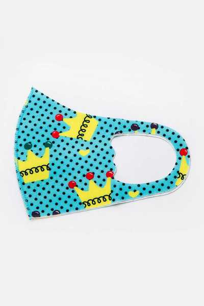 Kid Size Fabric Mask Set