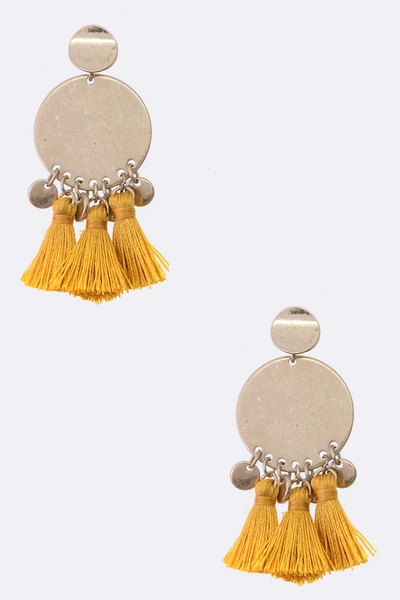 Tassel Iconic Post Earrings