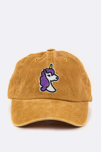 Toddler Size Unicorn Embroidery Cap