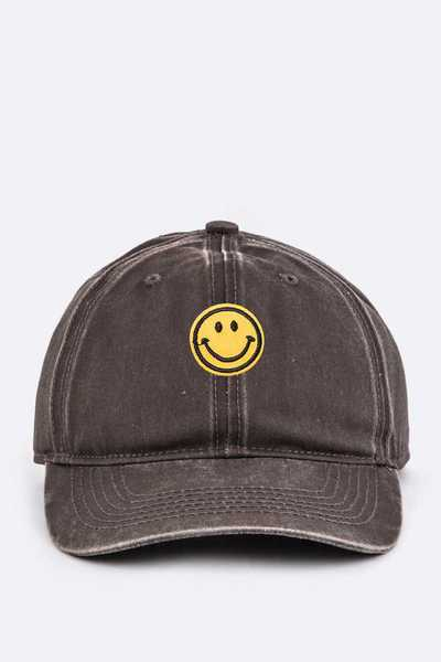 Toddler Size Emoji Embroidery Cap