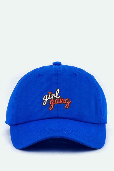 Girl Gang Patch Cotton Cap