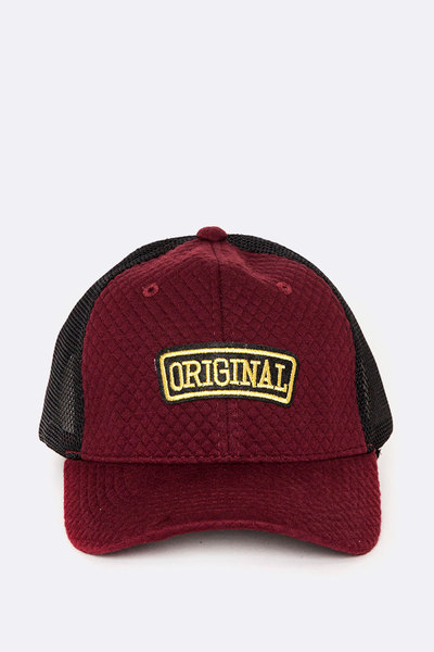ORIGINAL PATCH Quilted Cap