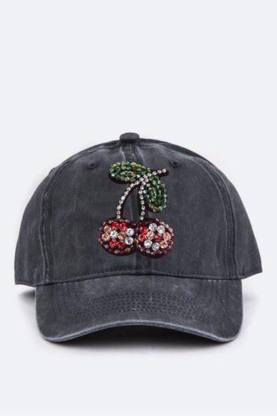 Crystal Cherry Iconic Washed Cap