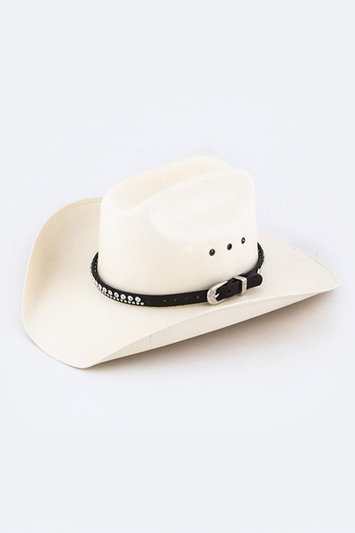 Mix Crystal Studded Hat Belt