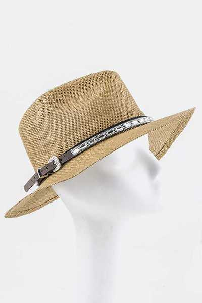 Crystal Statement Hat Band