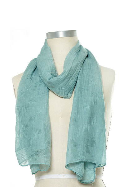 Solid Color Scarf Set