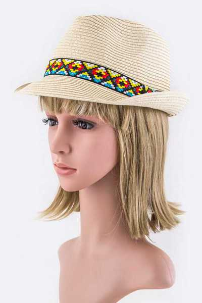 Tribal Band Fashion Fedora