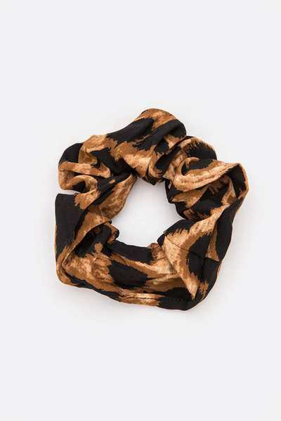 Animal Print Scrunchy Hair Tie Set