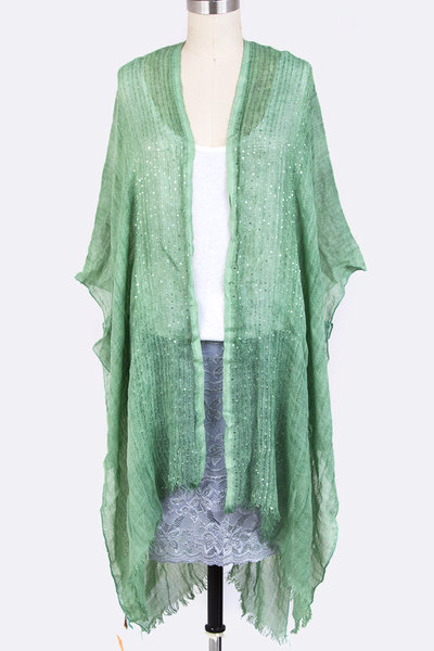 Lurex Mix Long Cardigans